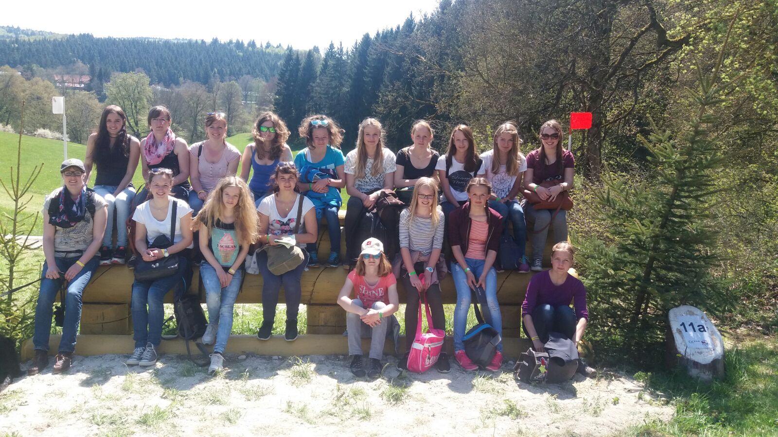Jugendausflug Gruppenbild